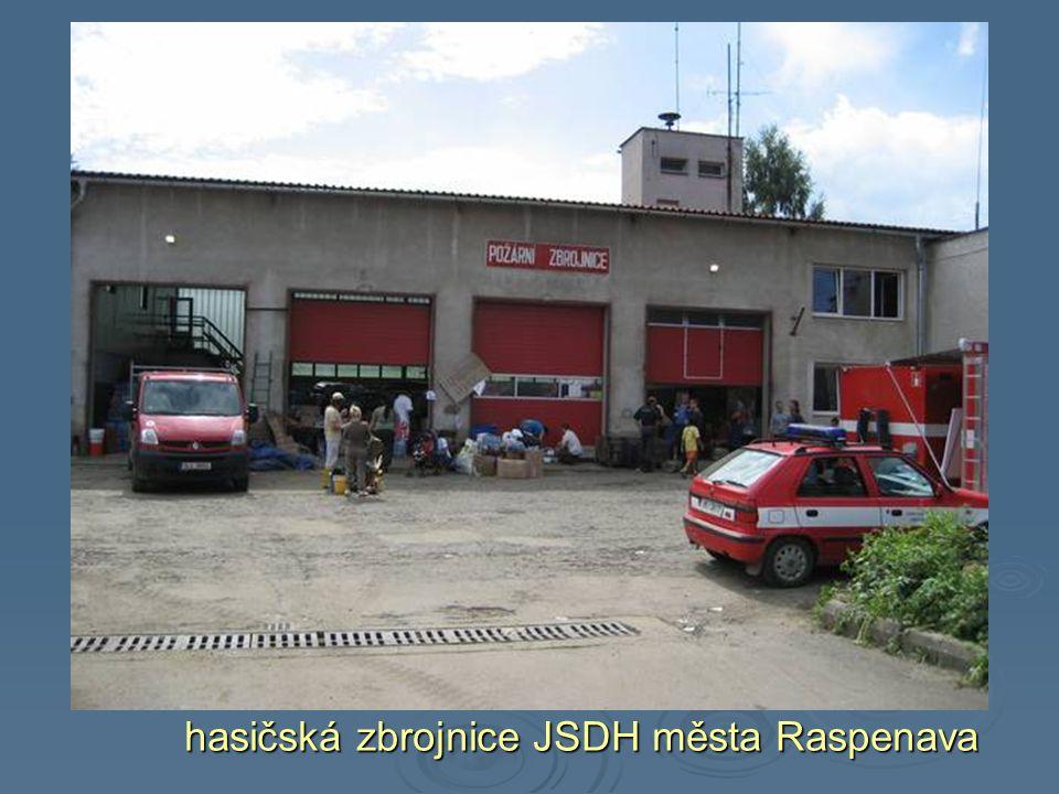 hasičská zbrojnice JSDH města Raspenava