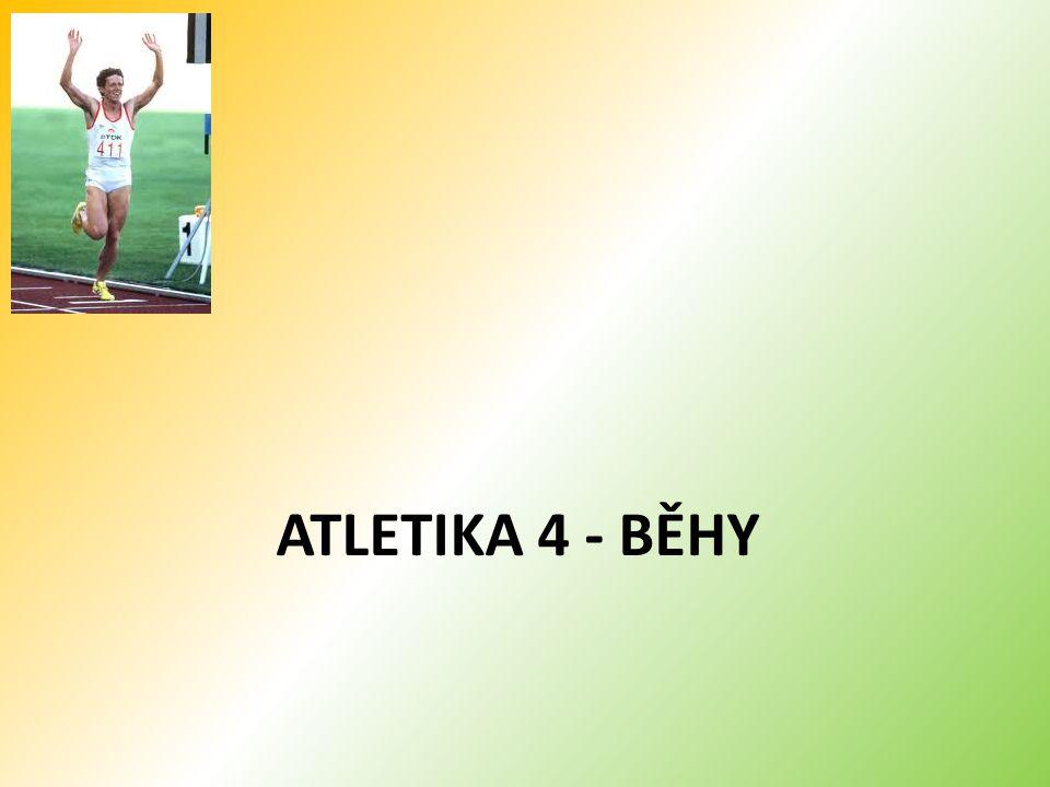 ATLETIKA 4 - BĚHY