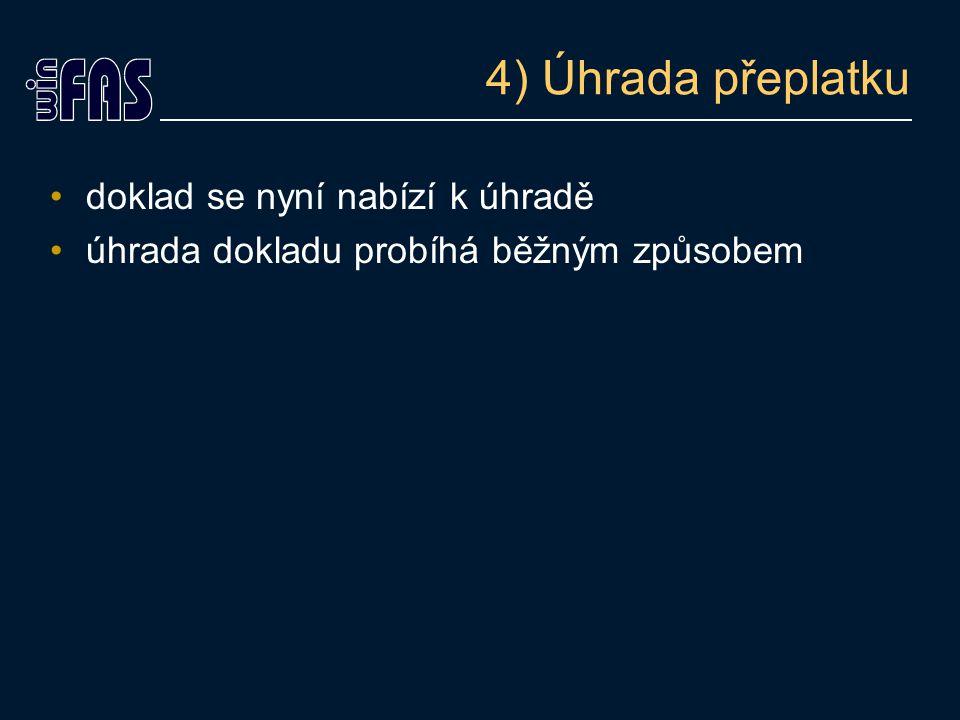 """Konec prezentace """"VRÁCENÍ PŘEPLATKU"""