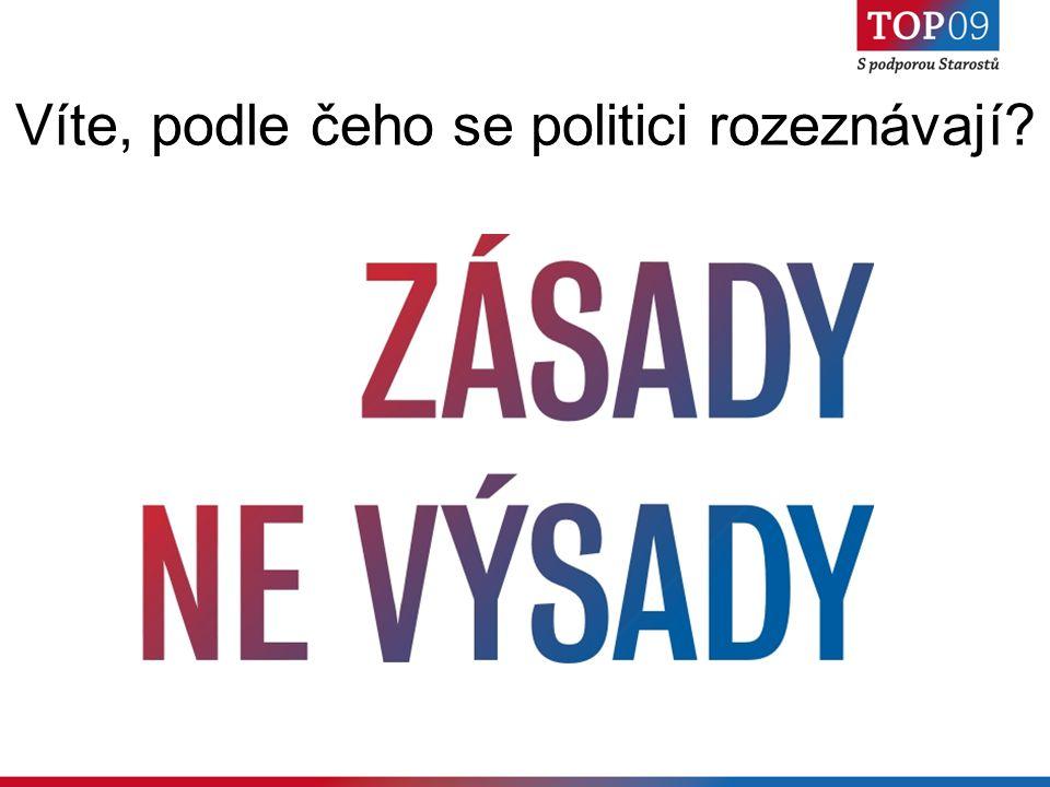 Víte, podle čeho se politici rozeznávají?