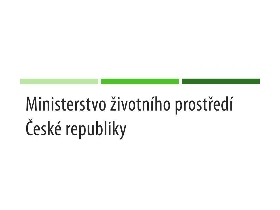 Hydromorfologické změny Operační program Životní prostředí Oblast podpory 1.3 Celkem bylo alokováno 6 mld.