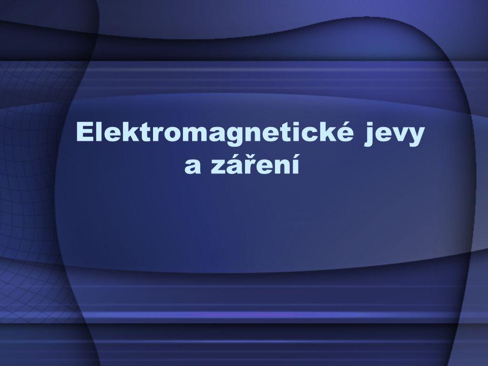 Elektromagnetické jevy a záření