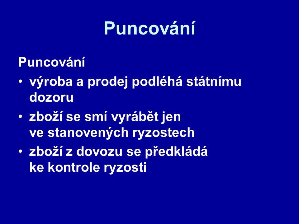 Puncovní úřad státní instituce Legislativní úprava: Zákon č.