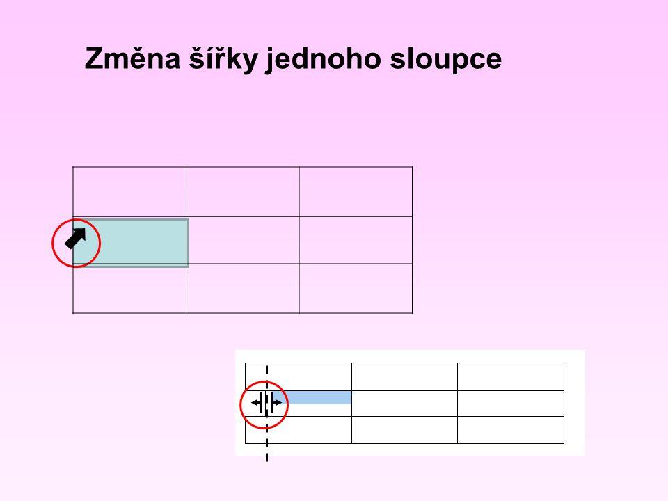 Pokračujte v otevřeném dokumentu s vloženou tabulkou Proveďte sloučení první a druhé buňky druhého sloupce Úkol č.
