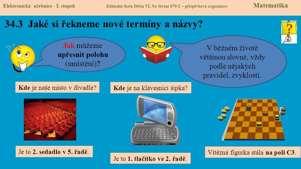 34.4 Co si řekneme nového.Elektronická učebnice - I.