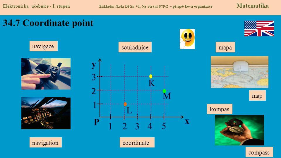 34.7 Coordinate point Elektronická učebnice - I.
