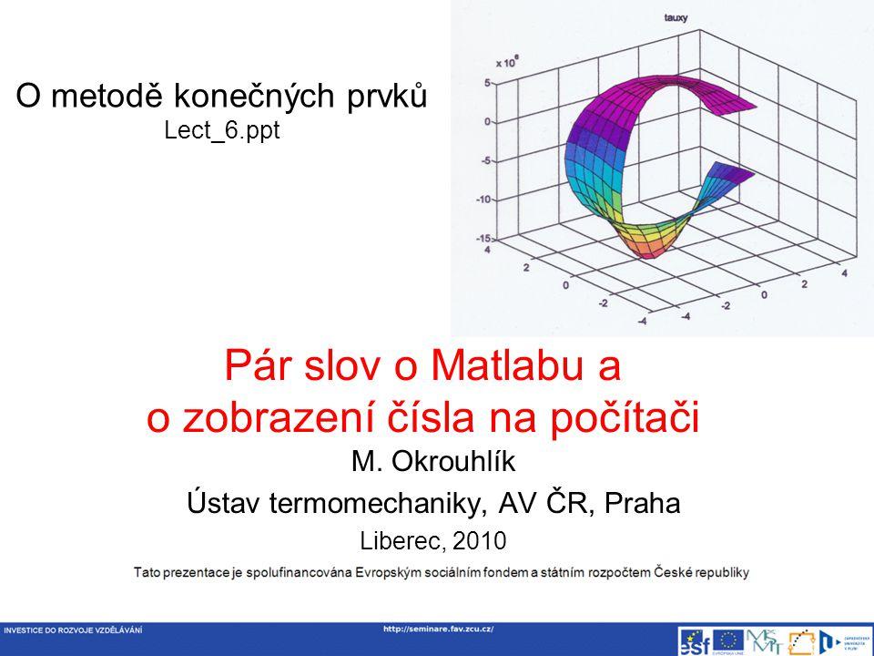 O metodě konečných prvků Lect_6.ppt M.