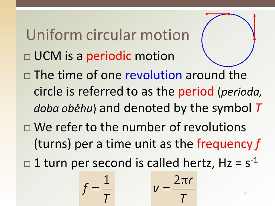 5 Parametres of the circular path  r – radius in m  s – distance in m  ϕ – angle in ° or in rad B r s ϕ O r A