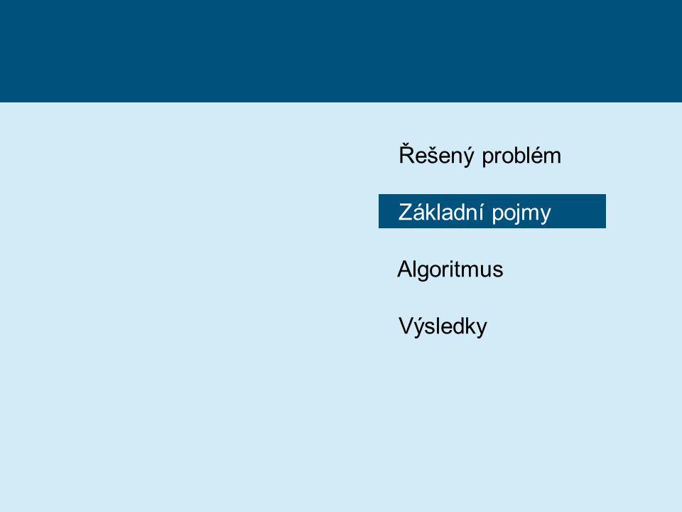 Základní pojmy Algoritmus Výsledky