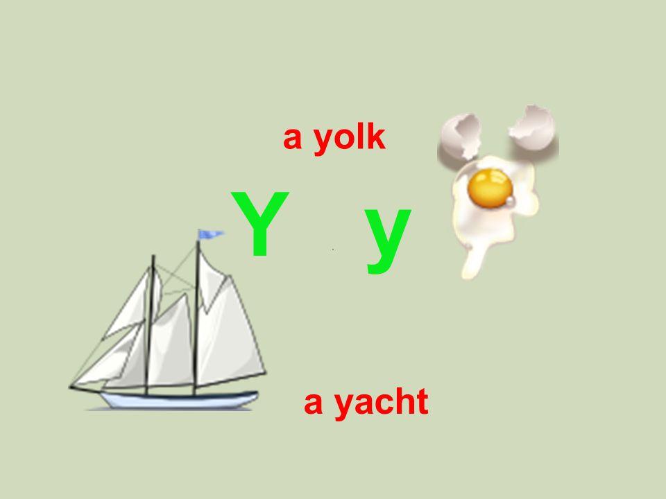 Y y a yolk a yacht