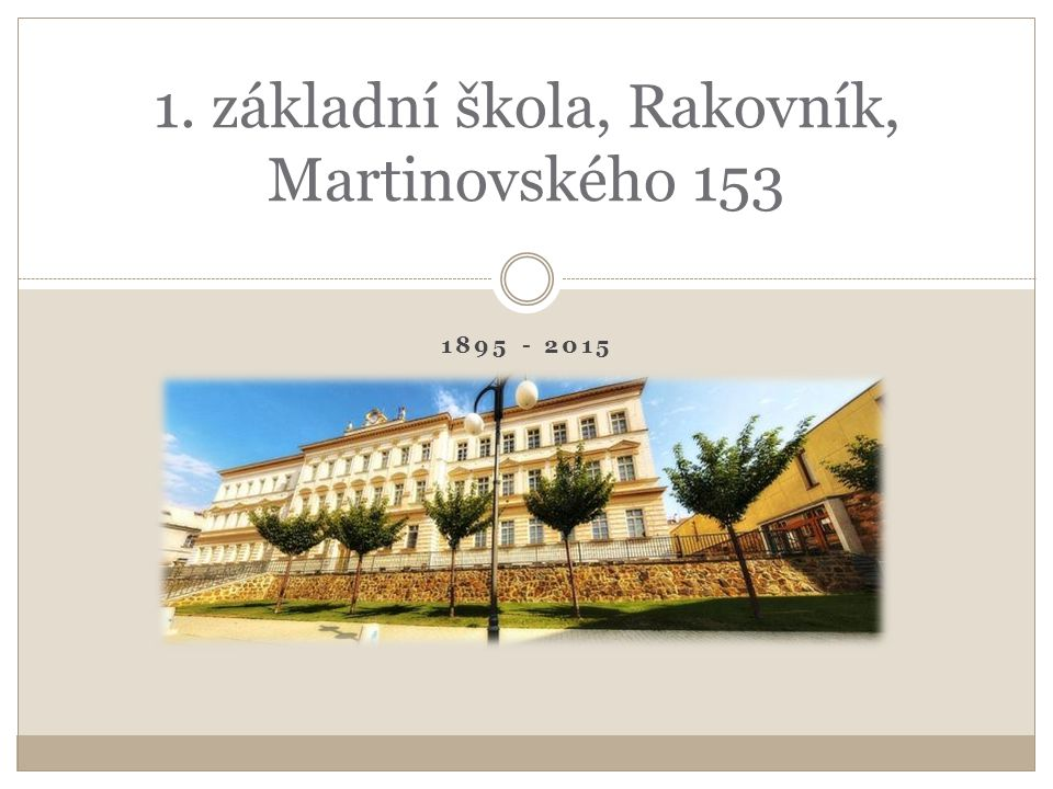 The Royal Town Rakovník is situated 56 km to the west of Prague.