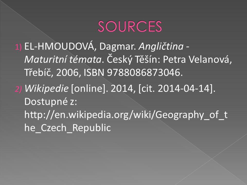 1) EL-HMOUDOVÁ, Dagmar.Angličtina - Maturitní témata.