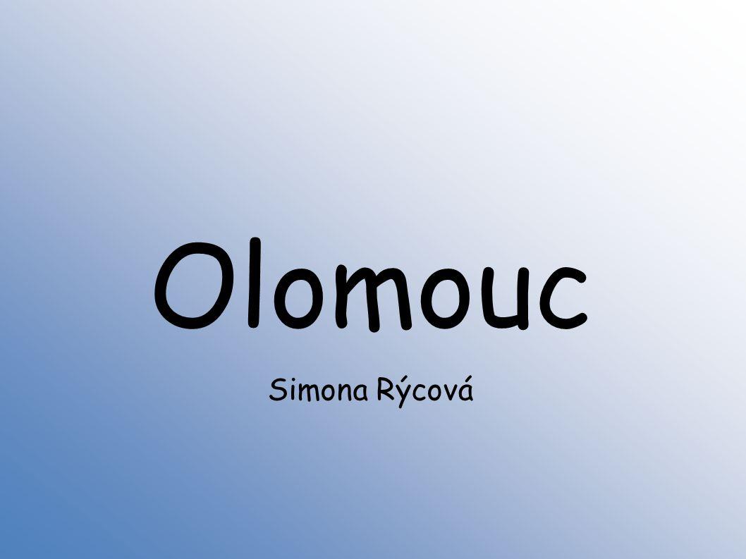 Olomouc Simona Rýcová