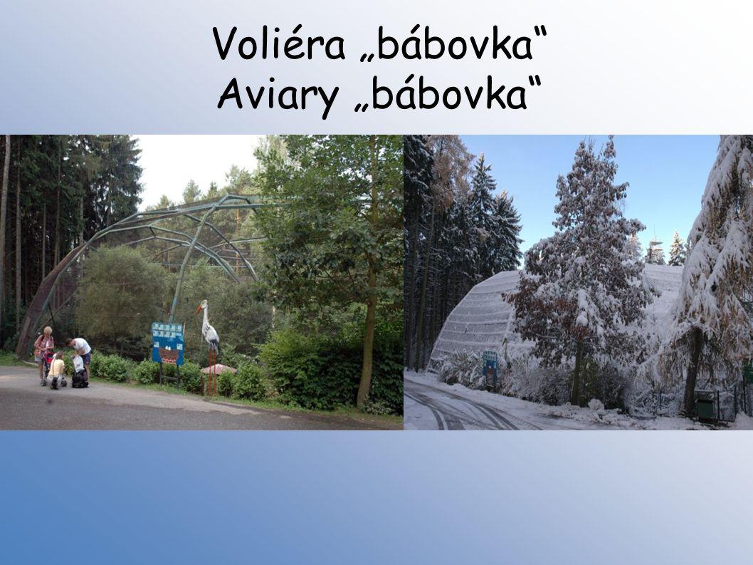 """Voliéra """"bábovka Aviary """"bábovka"""