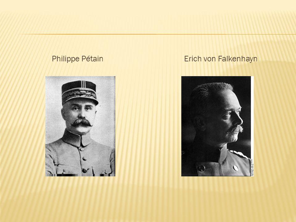 Philippe PétainErich von Falkenhayn