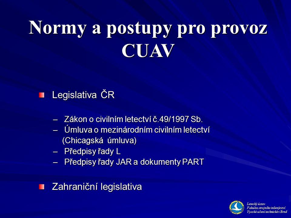 Legislativa ČR Legislativa ČR – Zákon o civilním letectví č.49/1997 Sb.