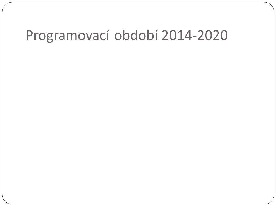 Programovací období 2014-2020