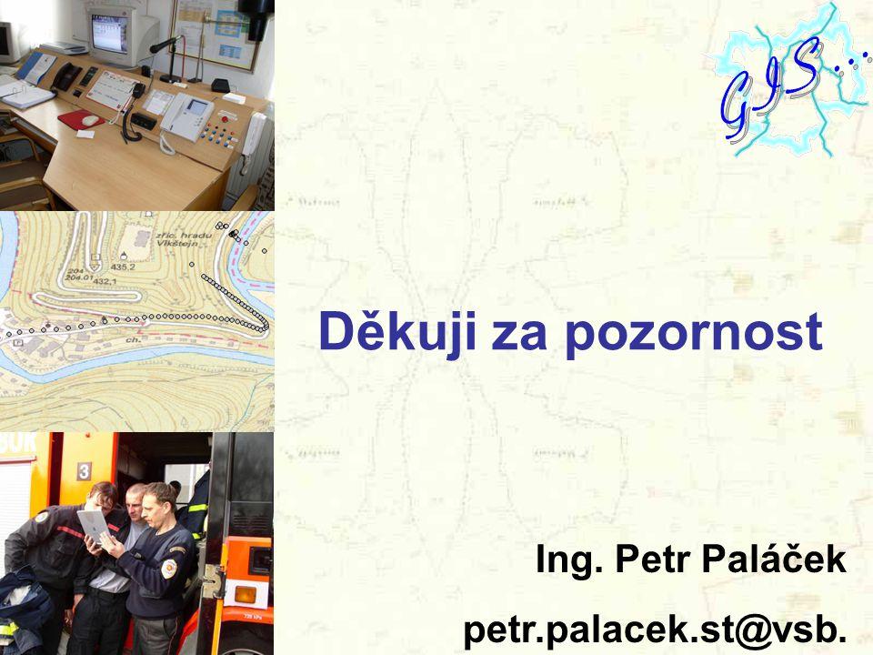 Děkuji za pozornost Ing. Petr Paláček petr.palacek.st@vsb. cz