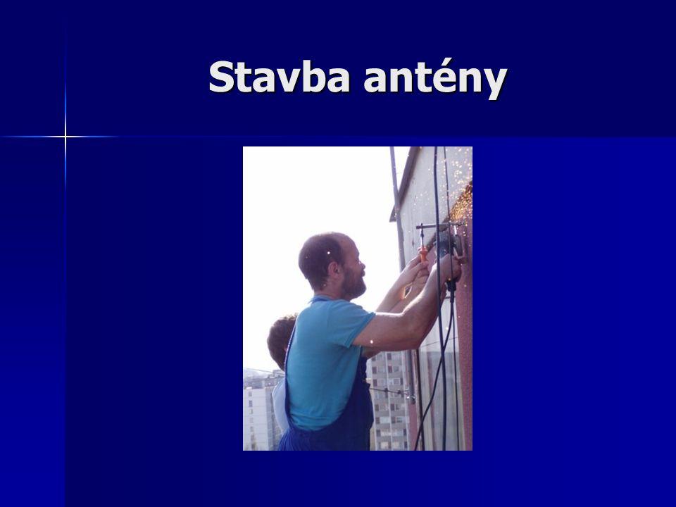 Stavba antény