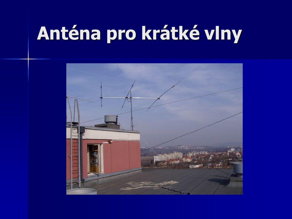 Anténa pro krátké vlny