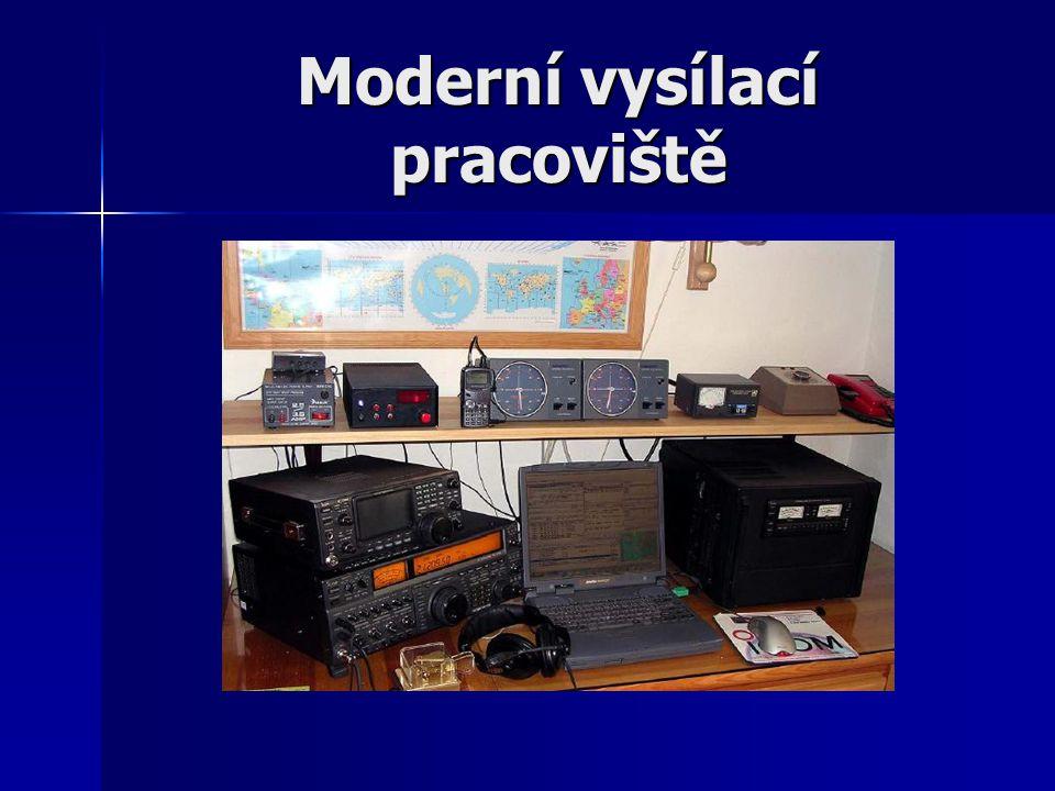 Moderní vysílací pracoviště