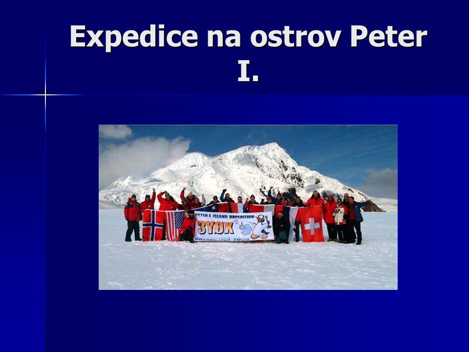Expedice na ostrov Peter I.