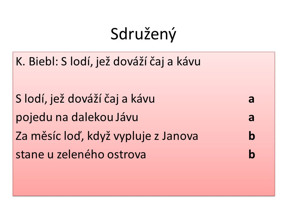 Sdružený K.