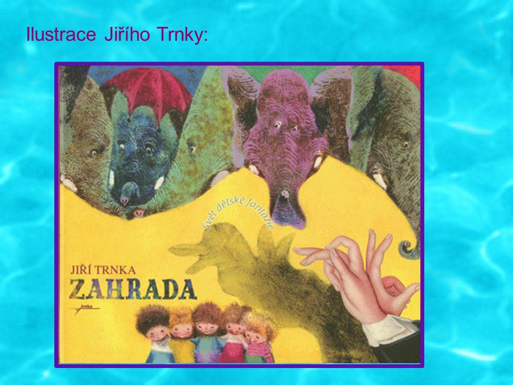 Ilustrace Jiřího Trnky: