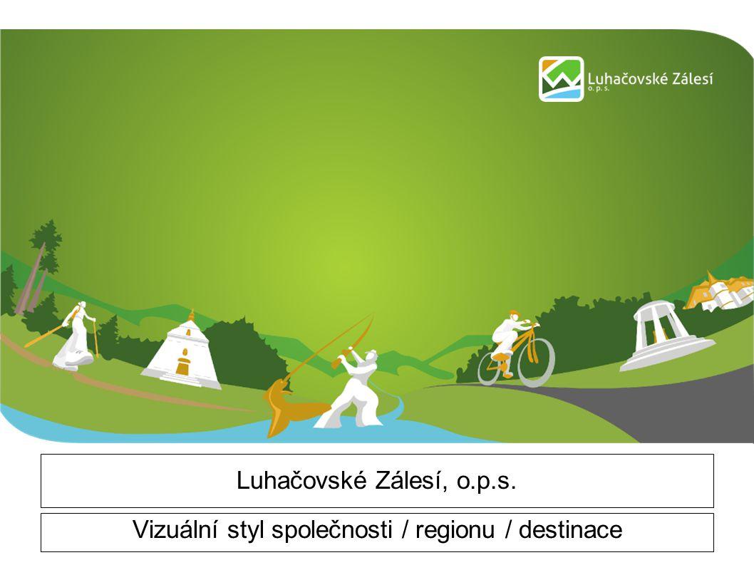 Luhačovské Zálesí, o.p.s. Vizuální styl společnosti / regionu / destinace