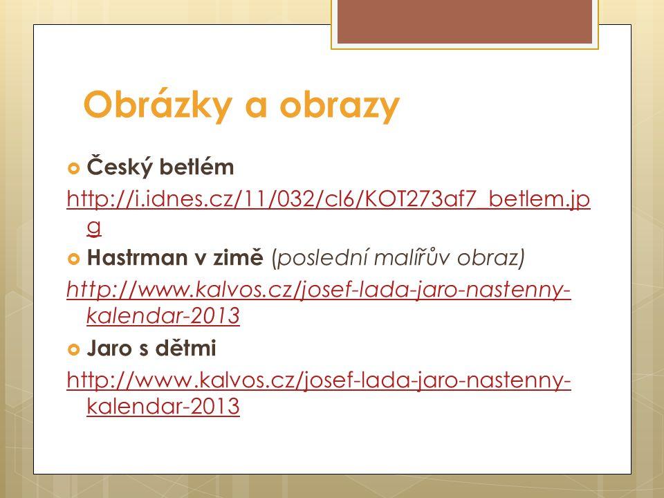 Večerníčky podle knih Josefa Lady  Kocour Mikeš http://www.youtube.com/watch?v=HMXoZ1Z8p aY http://www.youtube.com/watch?v=HMXoZ1Z8p aY  Bubáci a ha