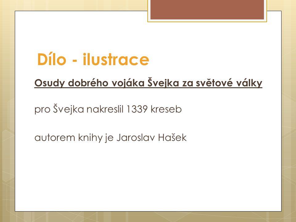 Obr. 1 Busta Josefa Lady v rodných Hrusicích