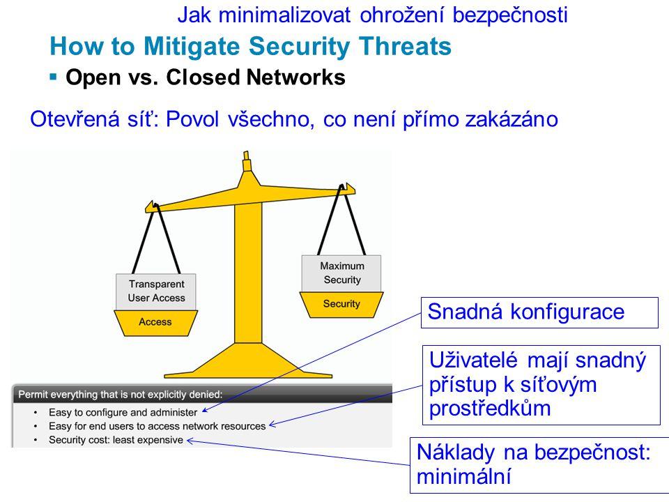 Manage Cisco IOS Devices  How to recover passwords Změníme hesla (kvůli tomu jsme to všecko dělali).