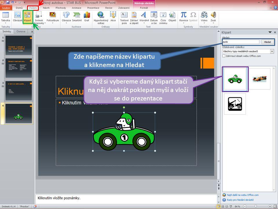 Vložení obrázku Vložení obrázku se v PowerPointu provádí úplně stejně jako např.
