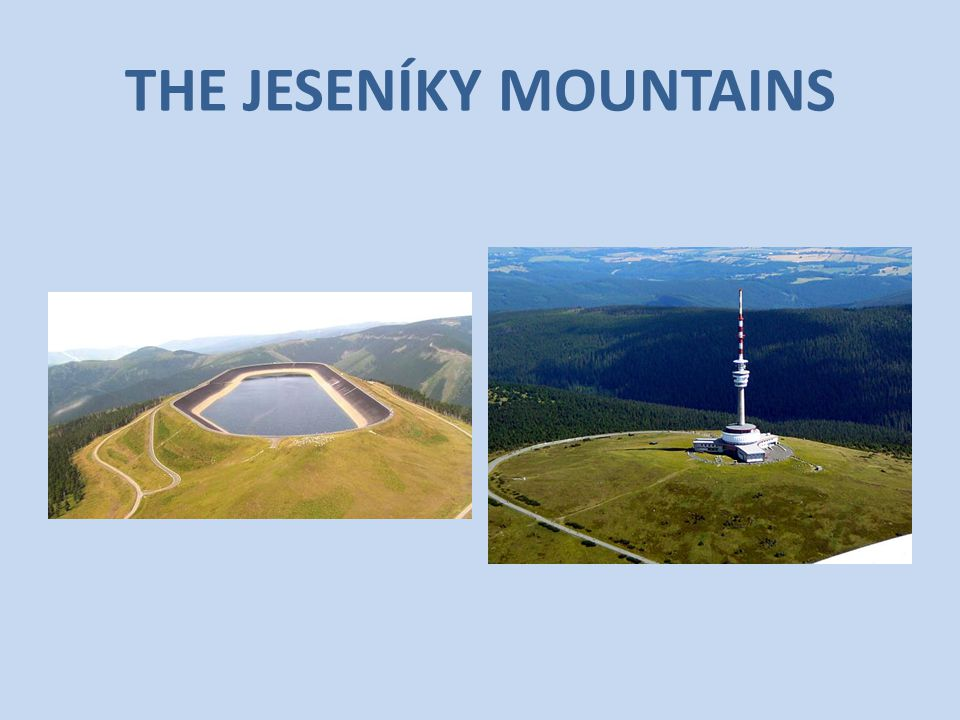 THE JESENÍKY MOUNTAINS