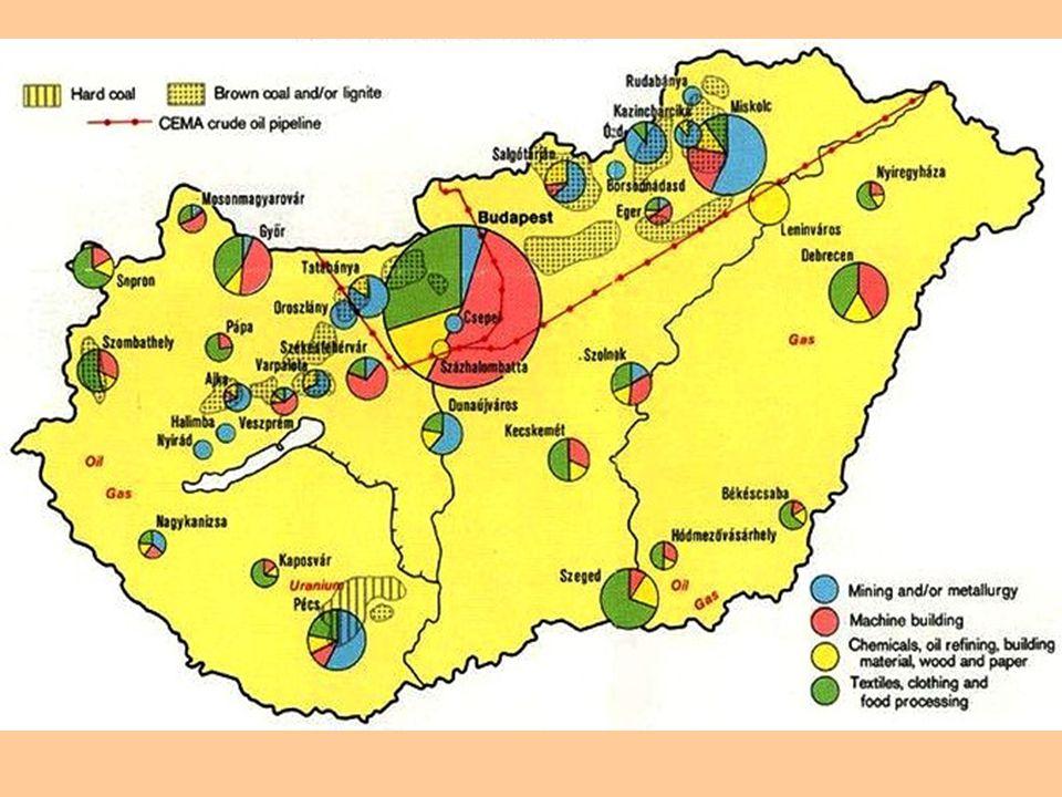 Maďarsko má příhodné podmínky pro ………..…….Nejznámějšími plodinami jsou ………….