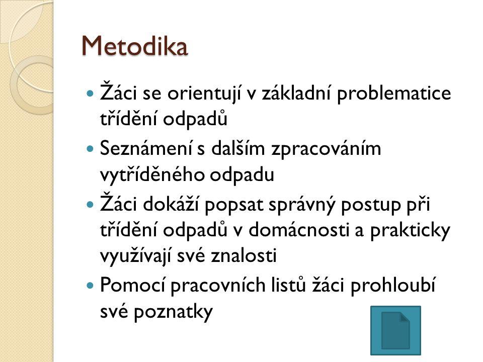 O Název Recyklace PET O Šablona CZ.1.07/1.4.00/21.2698 O Poř.číslo 8 O Autor šablony Mgr.
