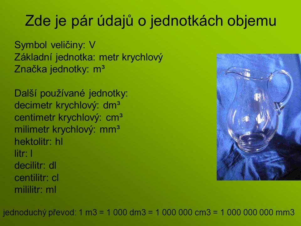Jednotky mimo soustavu SI: Britské bushel fluid ounce gallon Pint Americké barel bushel gallon fluid ounce liquid pint