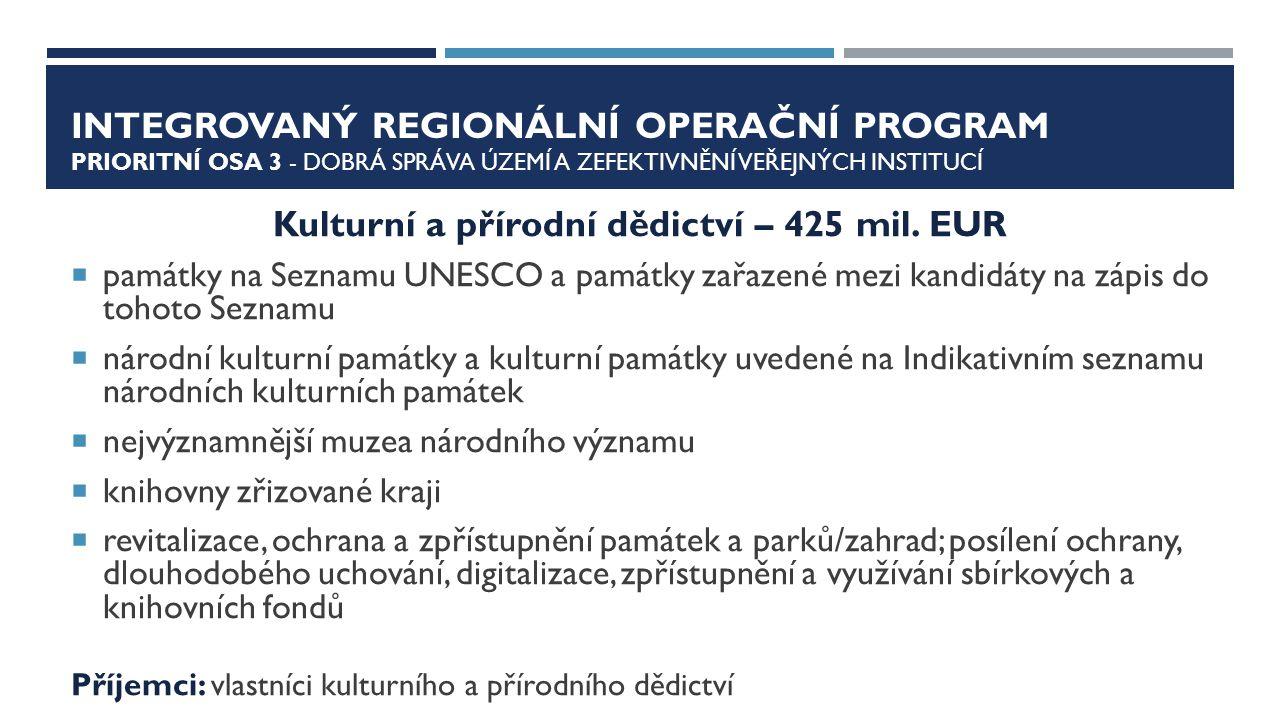 OP PŘESHRANIČNÍ SPOLUPRÁCE PARAMETRY PROGRAMU  1.
