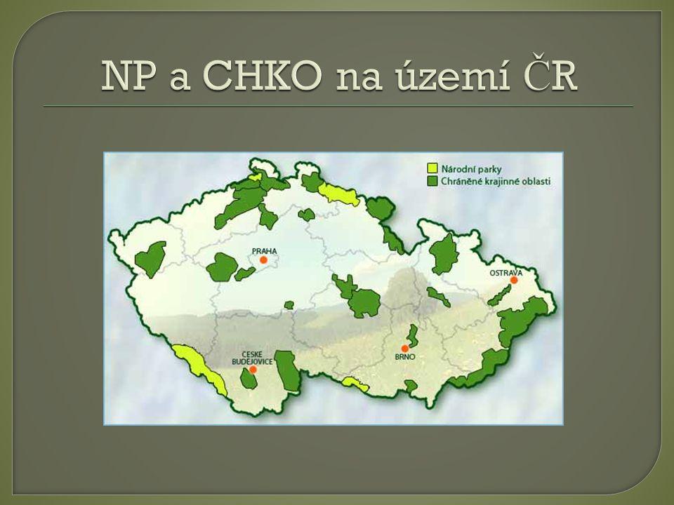  Národní p ř írodní rezervace je nejvýzna č n ě jší kategorií ochrany maloplošných území.