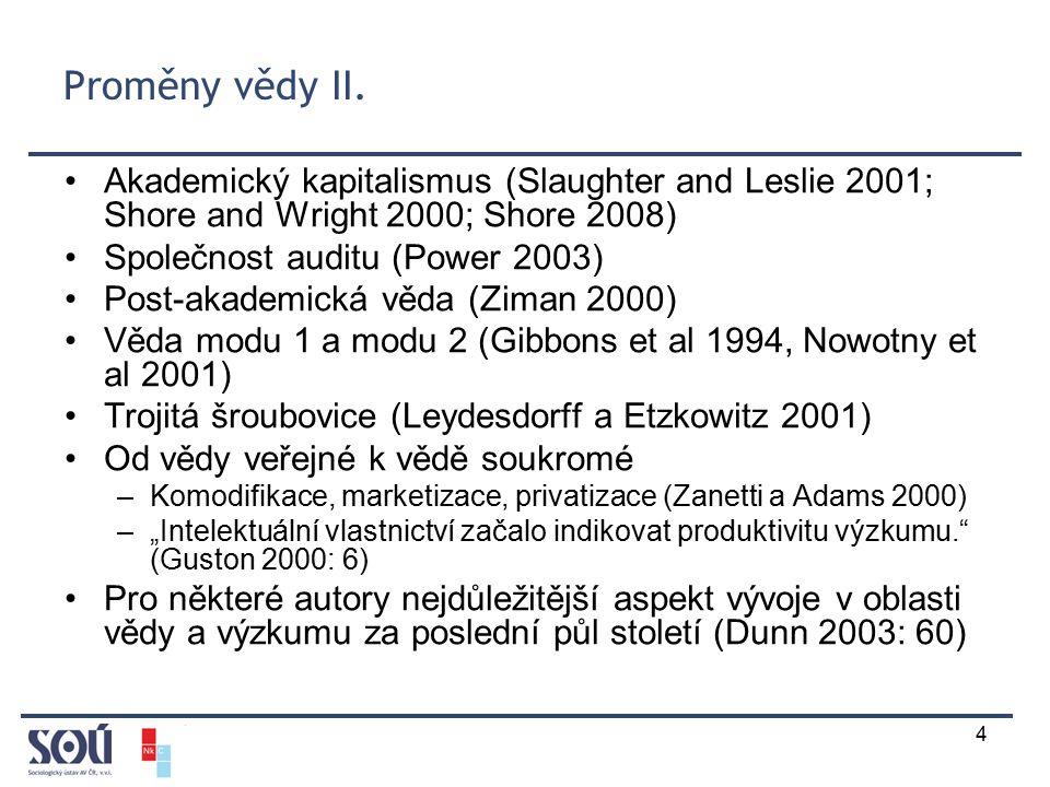 4 Proměny vědy II.