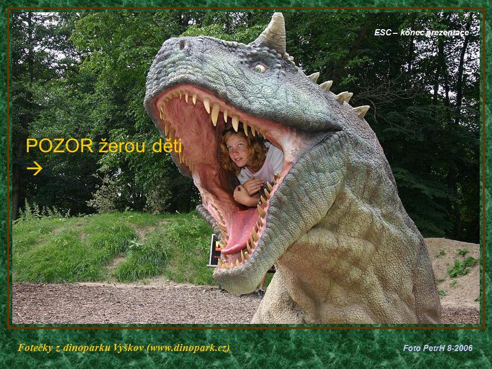 APATOSAURUS – délka 23m (býložravec)