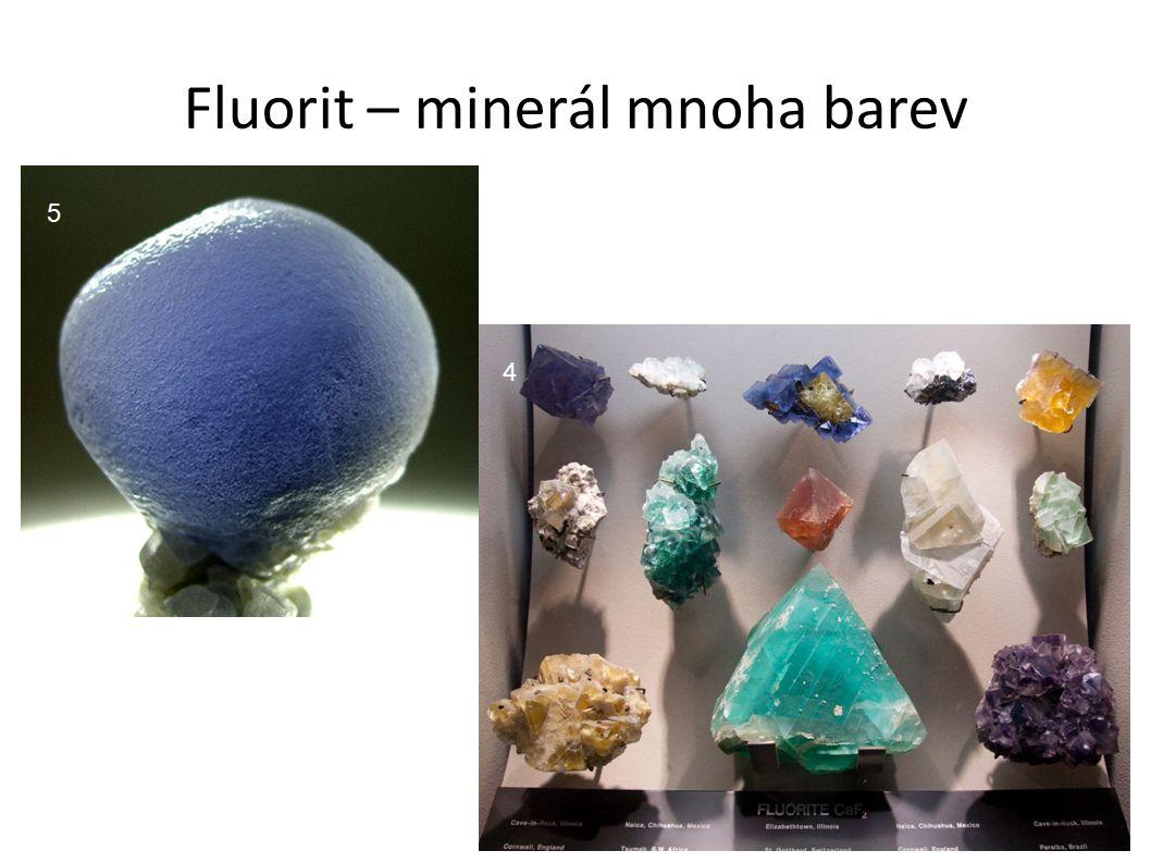Fluorit – minerál mnoha barev 5 4
