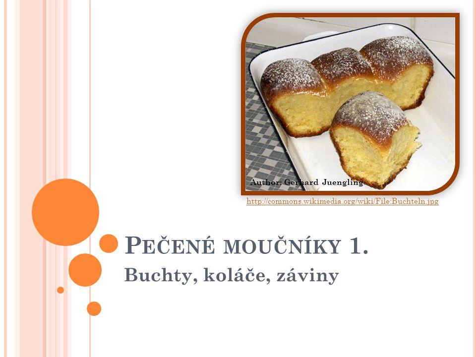 P EČENÉ MOUČNÍKY 1.