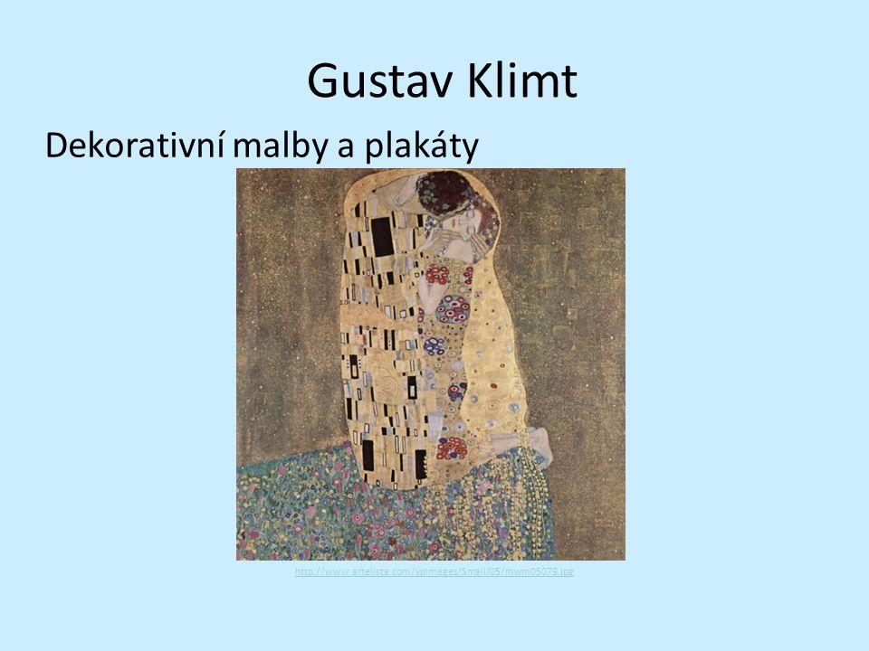 Gustav Klimt Dekorativní malby a plakáty http://www.artelista.com/ypimages/Small/05/mwm05079.jpg