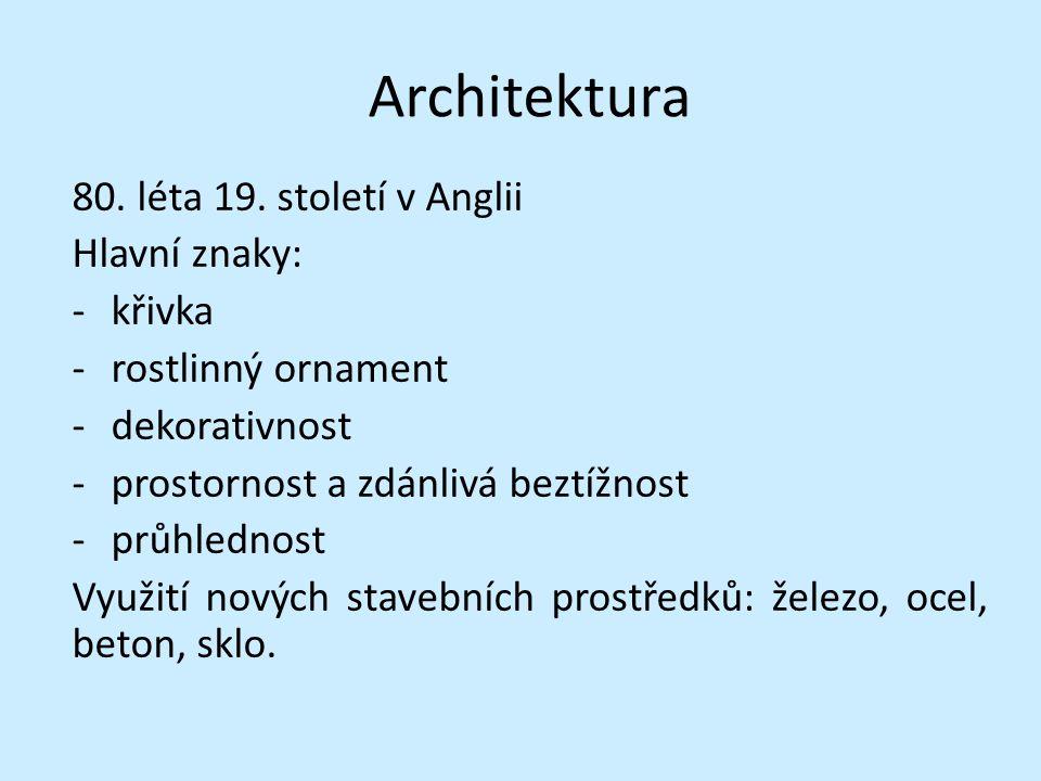 Architektura 80.léta 19.