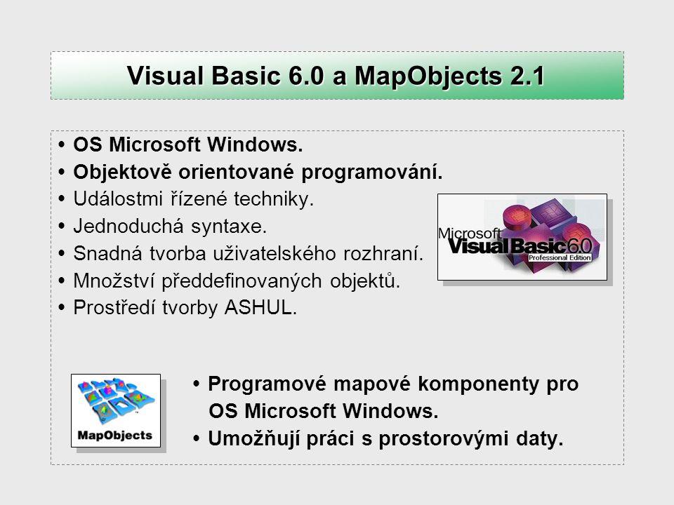  OS Microsoft Windows.  Objektově orientované programování.  Událostmi řízené techniky.  Jednoduchá syntaxe.  Snadná tvorba uživatelského rozhran