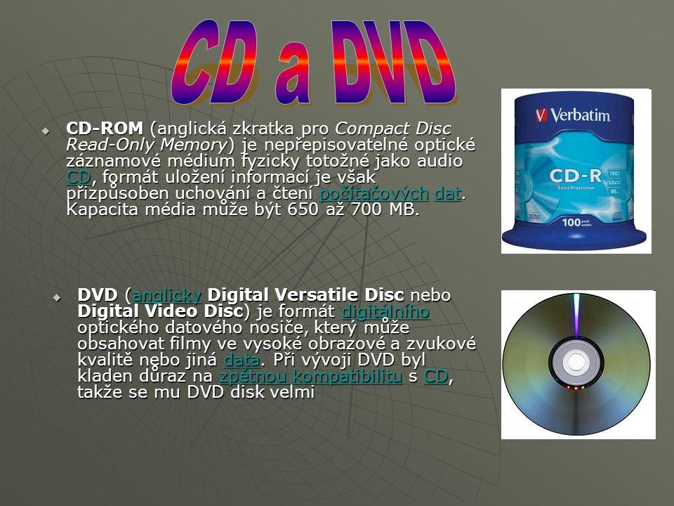  CD-ROM (anglická zkratka pro Compact Disc Read-Only Memory) je nepřepisovatelné optické záznamové médium fyzicky totožné jako audio CD, formát ulože