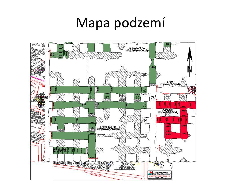 Mapa podzemí