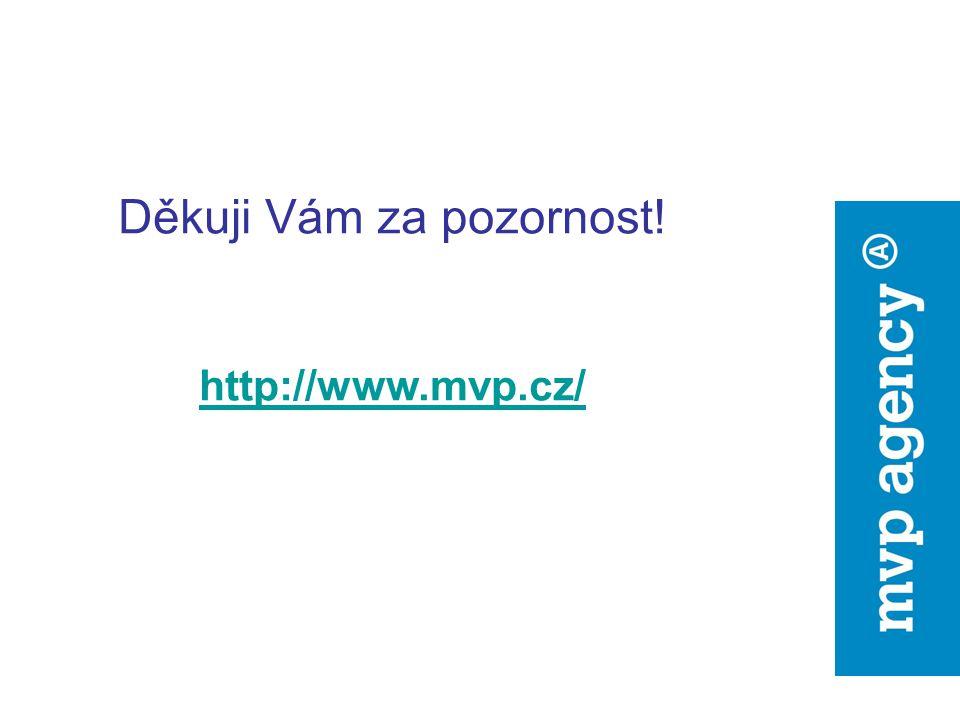 Děkuji Vám za pozornost! http://www.mvp.cz/