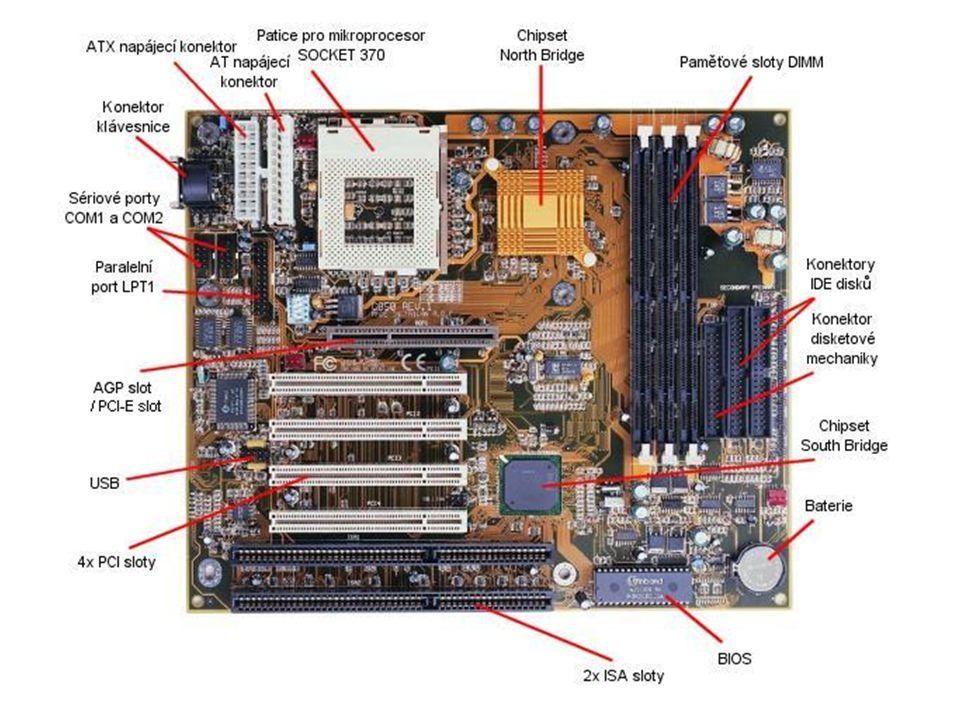 Co je základní deska Základní deska je nejdůležitější komponent v počítači, jedná se o desku několika vrstev plošných spojů, které umožňují komunikaci všech zařízení v počítači.